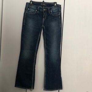 Silver Aiko bootcut jeans size 30/31